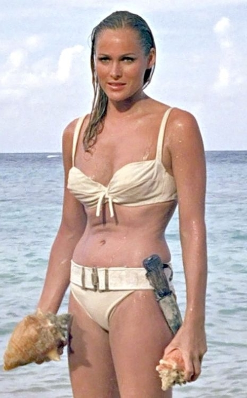 Custom Made Two Piece Bikini by Tessa Prendergast (Costume Designer) in Dr. No