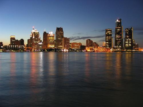 Detroit Michigan, USA in Brick Mansions