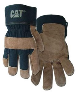 Leather Palm Work Gloves by Caterpillar in The Best of Me