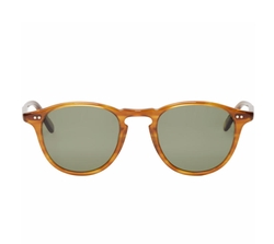 Brown Hampton Sunglasses by Garrett Leight in The Wolf of Wall Street