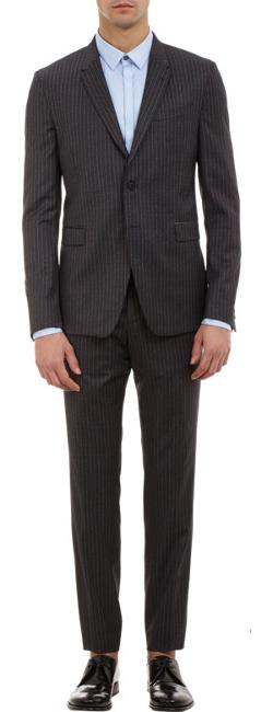 Pin-Stripe Two-Button Suit by Paul Smith Exclusive in X-Men: Days of Future Past