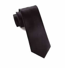 English Satin Black Tie by Sene in Murder on the Orient Express