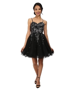Hayley Sequin Short Dress by Alejandra Sky in Fast Five