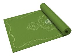 Print Yoga Mat by Gaiam in Entourage