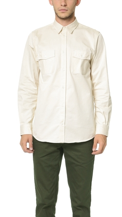 Villads Twill Overshirt by Norse Projects in Ride Along 2