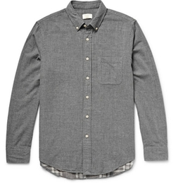Slim-Fit Double-Faced Cotton Shirt by Club Monaco in How To Get Away With Murder