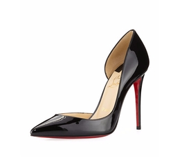 Iriza Half-d'Orsay Red Sole Pumps by Christian Louboutin in Will & Grace