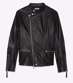 Leather Rider Jacket by Helmut Lang in Billions
