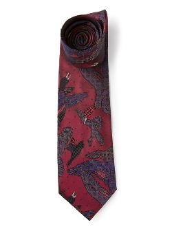 Vintage Bird Print Tie by Paul Smith in Lee Daniels' The Butler