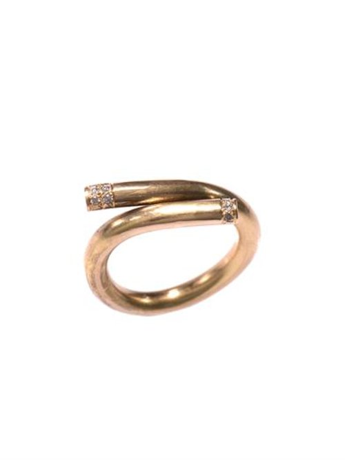 Diamond/Yellow Gold Ring by Lara Melchior in The Boy Next Door