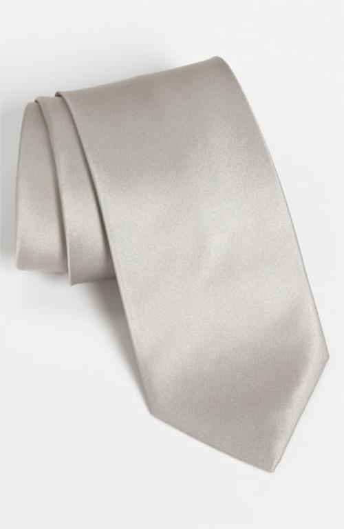 Woven Silk Tie by HUGO BOSS in Jersey Boys