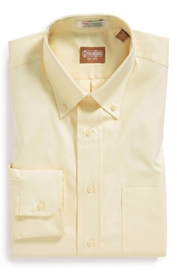 Cotton Oxford Button Down Dress Shirt by Gitman in Master of None