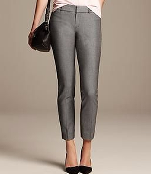 Sloan-Fit Slim Ankle Pant by Banana Republic in The Boss