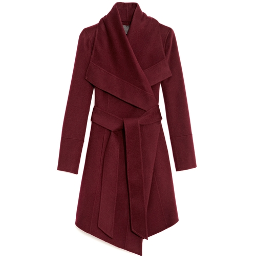 Belted Draped Lapel Cashmere Coat by Donna Karan in How To Get Away With Murder - Season 3 Episode 5