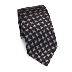 Stud Printed Silk Tie by Armani Collezioni in The Defenders