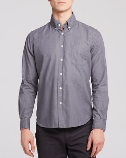 Classic Collegiate Button Down Shirt by Steven Alan in The Best of Me