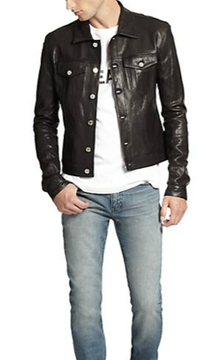 Leather Jacket by BLK DNM in Empire
