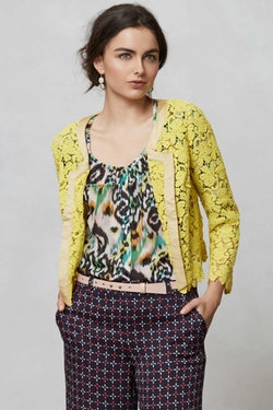 Lacebloom Jacket by Anthropologie in Fuller House