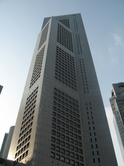 One Raffles Place, Singapore by OUB Centre in Hitman: Agent 47