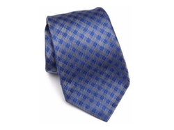 Check Silk Tie by Kiton in Suits