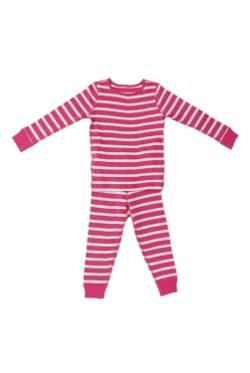 Long Sleeves Organic Cotton Pajamas by Skylar Luna in Poltergeist