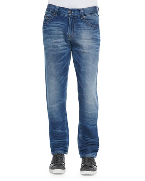 Geno Clear Waters Straight-Leg Denim Jeans by True Religion in Adult Beginners