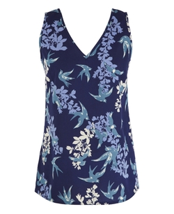 Print Woven Tank Top by Simply Be in Jessica Jones