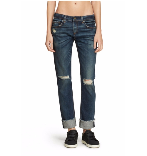 Dre Mabel Boyfriend Jeans by Rag & Bone in Mistresses - Season 4 Episode 2
