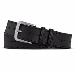 Bridle Center Stitch Leather Belt by Shinola in Shadowhunters