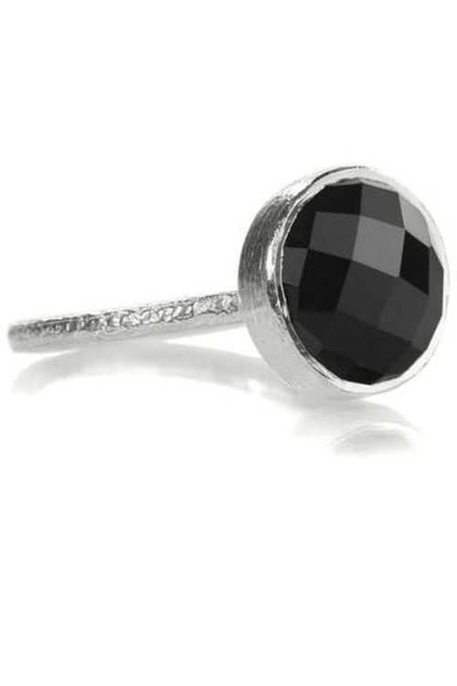 Stackable Onyx Ring by Sikara & Co. in Pretty Little Liars - Season 6 Episode 10
