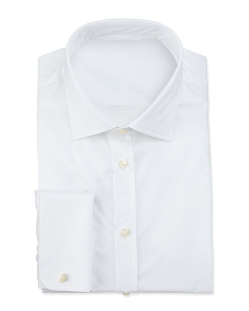 Textured French-Cuff Dress Shirt by Giorgio Armani in The Counselor