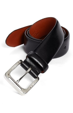 Leather Belt by Bosca in Entourage