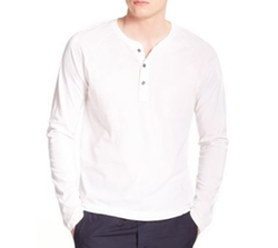 Henley Long-Sleeve Tee by Splendid Mills in Lethal Weapon