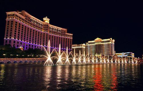 Bellagio (Resort) Las Vegas, Nevada in Step Up: All In