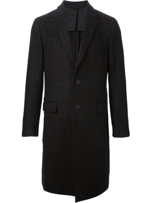 Classic Single Breasted Coat by Fendi in Mortdecai