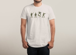 Khaki Kickflip Tee by Threadless in The Flash