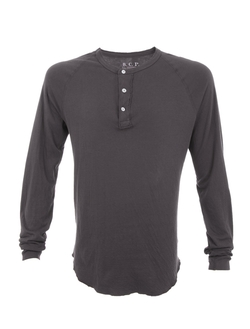 Long Sleeve Henley Shirt by SCP in The Forest