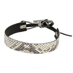 Bowtie Choker Natural Python by Framework in Keeping Up With The Kardashians