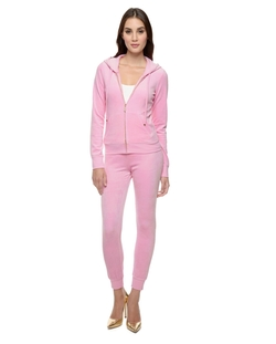 J Bling Original Velour Jacket by Juicy Couture in Blended