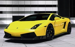 Gallardo LP560-4 Coupe by Lamborghini in Alvin and the Chipmunks: The Road Chip