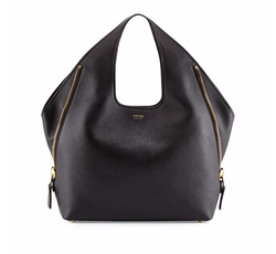Jennifer Side-Zip Leather Hobo Bag by Tom Ford in How To Get Away With Murder