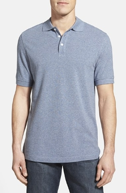Regular Fit Piqué Polo by Nordstrom in McFarland, USA