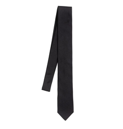 Silk Twill Martini Tie by Dolce & Gabbana in Atomic Blonde