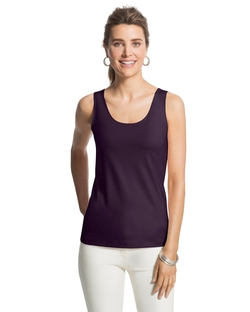Microfiber Contemporary Tank Top by Chico's in The Flash