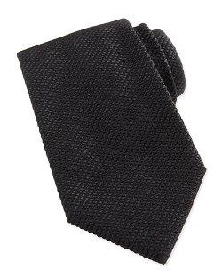 Waffle-Knit Silk Tie by Giorgio Armani in Sherlock Holmes: A Game of Shadows
