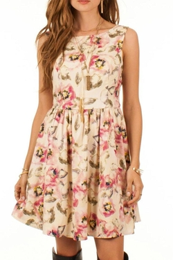 Floral Elegance Dress by Black Swan in The Big Bang Theory