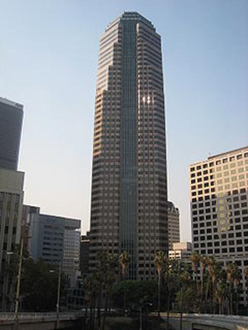 Figueroa at Wilshire Los Angeles, California in Nightcrawler