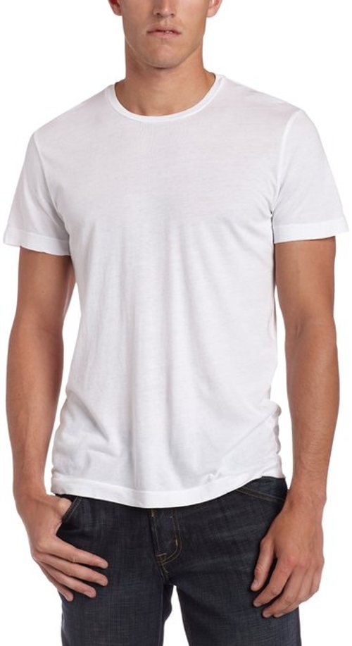 Men's Howard Short Sleeve Crew Neck T-Shirt by Velvet By Graham & Spencer in Entourage