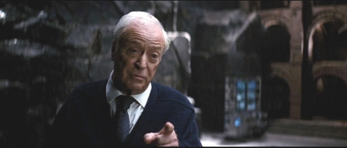 Custom Made Cardigan (Alfred) by Giorgio Armani in The Dark Knight Rises