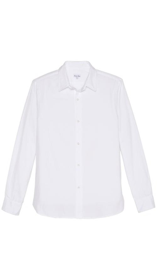 Pinpoint Oxford Classic Shirt by Steven Alan in Contraband